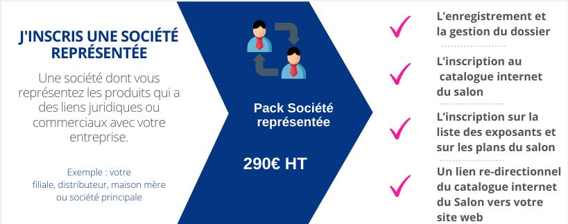 Pack société représentée